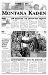 Montana Kaimin, March 22, 2007