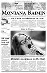 Montana Kaimin, April 4, 2007