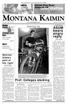Montana Kaimin, April 10, 2007