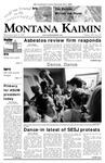 Montana Kaimin, April 11, 2007