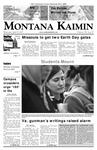 Montana Kaimin, April 18, 2007