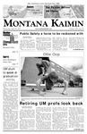 Montana Kaimin, April 25, 2007