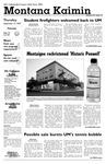 Montana Kaimin, September 13, 2007