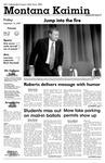 Montana Kaimin, September 14, 2007