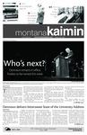 Montana Kaimin, August 31, 2010
