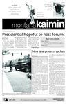 Montana Kaimin, September 9, 2010