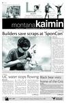 Montana Kaimin, September 21, 2010