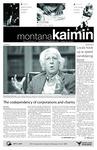 Montana Kaimin, October 19, 2010