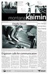 Montana Kaimin, October 20, 2010