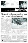 Montana Kaimin, October 27, 2010