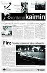 Montana Kaimin, December 1, 2010