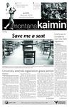 Montana Kaimin, April 20, 2011