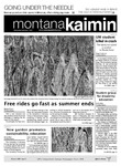 Montana Kaimin, September 7, 2011