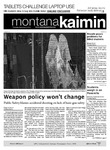 Montana Kaimin, September 8, 2011