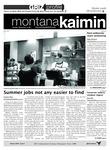Montana Kaimin, September 13, 2011