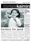 Montana Kaimin, September 14, 2011