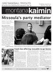 Montana Kaimin, September 20, 2011