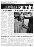 Montana Kaimin, September 21, 2011