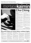 Montana Kaimin, October 4, 2011