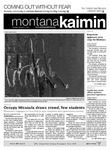 Montana Kaimin, October 11, 2011