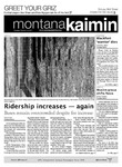 Montana Kaimin, October 18, 2011