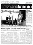 Montana Kaimin, October 20, 2011