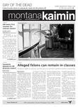 Montana Kaimin, November 3, 2011