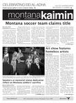 Montana Kaimin, November 8, 2011