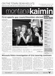 Montana Kaimin, November 9, 2011