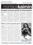 Montana Kaimin, November 30, 2011