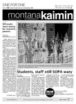 Montana Kaimin, January 25, 2012