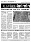 Montana Kaimin, February 14, 2012