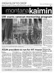 Montana Kaimin, March 1, 2012 by Students of The University of Montana, Missoula