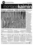 Montana Kaimin, March 13, 2012 by Students of The University of Montana, Missoula