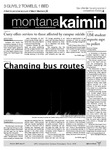 Montana Kaimin, March 20, 2012