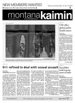 Montana Kaimin, March 22, 2012 by Students of The University of Montana, Missoula