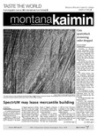 Montana Kaimin, March 27, 2012 by Students of The University of Montana, Missoula