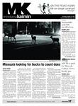 Montana Kaimin, October 18, 2012 by Students of The University of Montana, Missoula