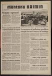 Montana Kaimin, January 8, 1970