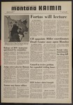 Montana Kaimin, January 29, 1970