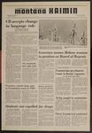 Montana Kaimin, February 5, 1970