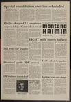 Montana Kaimin, April 3, 1970