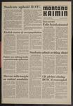 Montana Kaimin, May 14, 1970