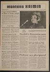 Montana Kaimin, October 30, 1970