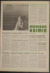 Montana Kaimin, December 1, 1970