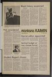 Montana Kaimin, May 18, 1971