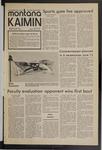 Montana Kaimin, May 27, 1971