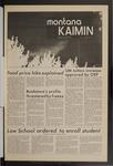 Montana Kaimin, September 29, 1971