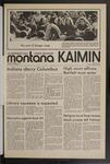 Montana Kaimin, October 8, 1971