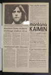 Montana Kaimin, November 9, 1971